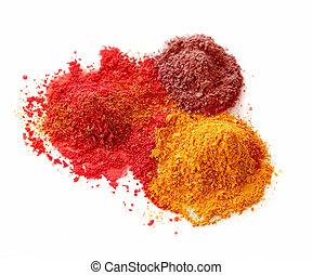 Spicy color powders