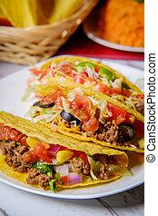 Spicy Mexican Beef Tacos