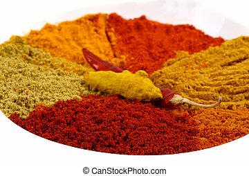 Spicy powders
