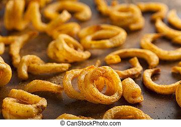 Spicy Seasoned Curly Fries