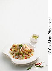 Spicy shrimp salad 2