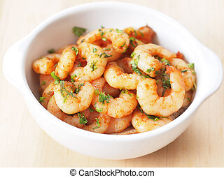 spicy shrimps