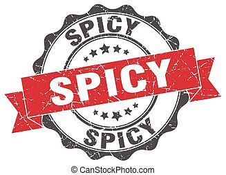 spicy stamp. sign. seal
