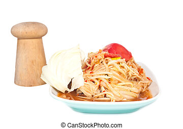 papaya salad or Som Tam