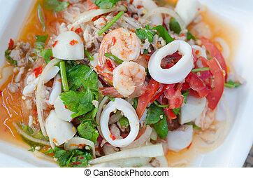Spicy vermicelli salad  - Spicy vermicelli salad