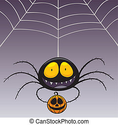 Spider - Vector illustration of Spider