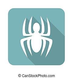 Spider icon, square