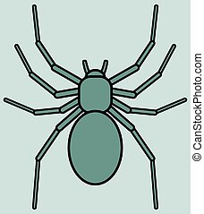 Spider - Illustration of the spider icon