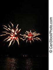 spider-like fireworks