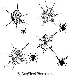 spider net set