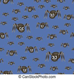 Spider Seamless Pattern