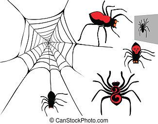 Spider set.