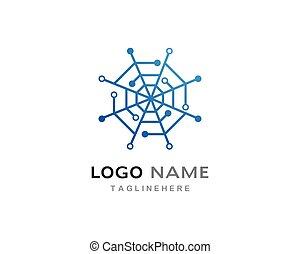 Spider Technology logo vector