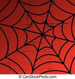 spider web art