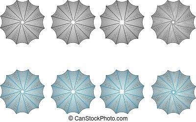 Cobweb set,