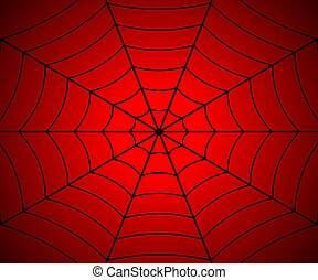 Spider web illustration, Vector cobweb . Template for your ...