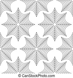 Spider web pattern - Spider's web, cobweb background,...