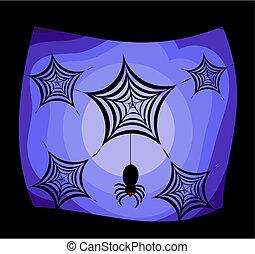 Spiders halloween