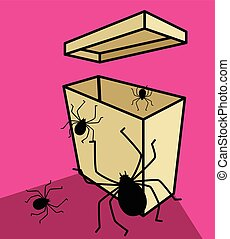 Spiders in Packet