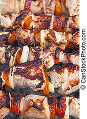 spiedi, kebab shish