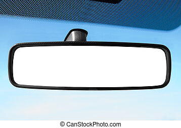 spiegel, hintere ansicht