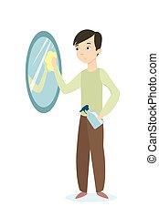 Desinfektionsmittel sanitizer w sche antibacterial for Spiegel putzen