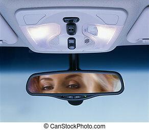 spiegel, rear-view