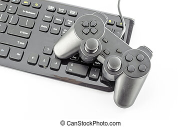 spiel, edv, controller, tastatur