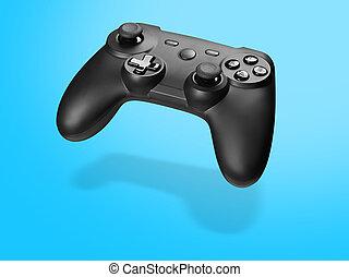 spiel, gamepad, konsole, controller, video, oder, joypad