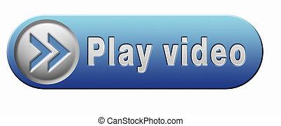 spielen, video