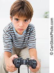 spielende videospiele, junge