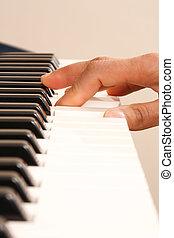 spielenden klavier