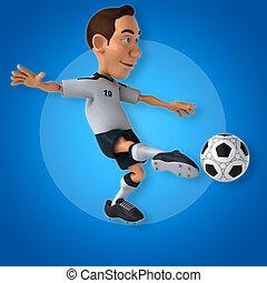 spieler, fußball