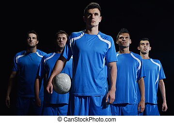 spieler, fußballmannschaft