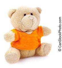 spielzeug, weich, Kinder, bär,  teddy