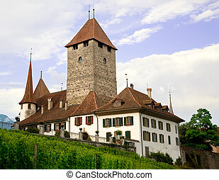 Spiez Castle, Bern Canton, Switzerland