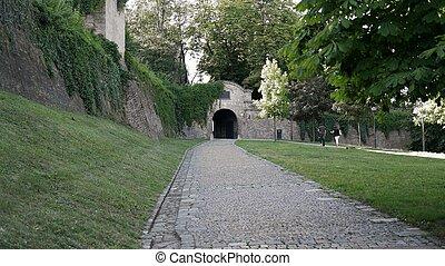 Spilberk Castle - A main entrance of Spilberk castle in Brno