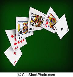 spille cards, poker, kasino