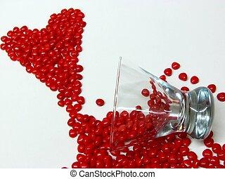 spilled heart