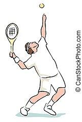 spiller, sketchy, tennis