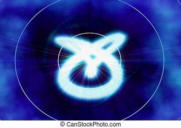 spin, beam, light flash