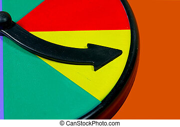 Spin Wheel Arrow
