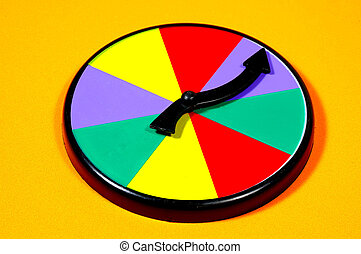 Spin Wheel - Blank Spin Wheel