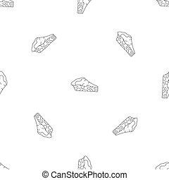 Spinach cake pattern seamless