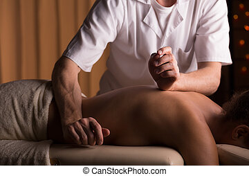 Spinal column manipulation