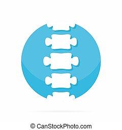 Spine diagnostic center logo.