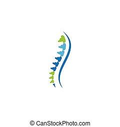 Spine diagnostics symbol