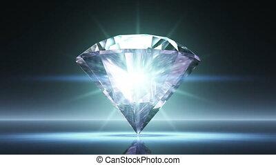 spining diamond