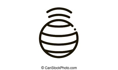 spinning ball Icon Animation