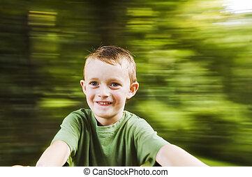 Spinning boy 2